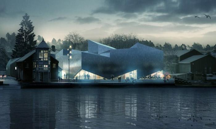 Norsko staví námořní muzeum zkovových kostek