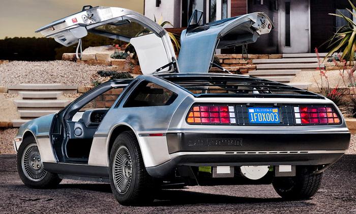 DeLorean sevrátí zbudoucnosti jako elektromobil