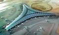 Nové futuristické letiště vKuvajtu odFoster + Partners architekta Normana Fostera