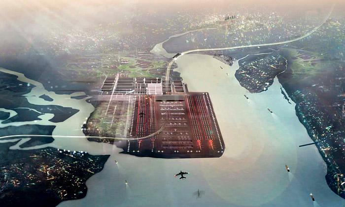 Londýn plánuje gigantický dopravní Thames Hub