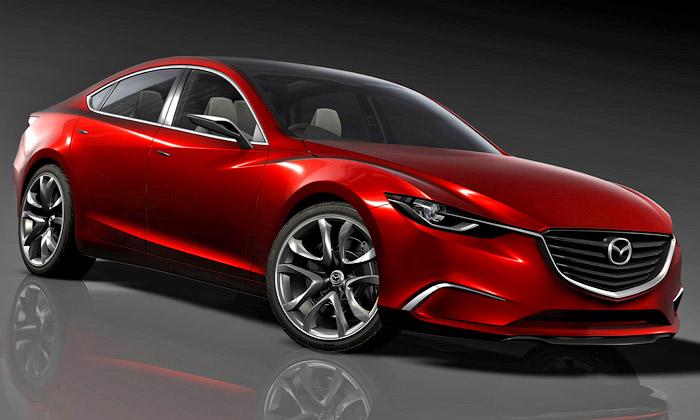 Mazda Takeri má organický design sduší pohybu