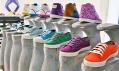 Nová experimentální kolekce bot Novesta zpřehlídky Designblok 2011