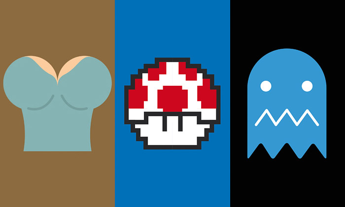 Ital seproslavil minimalistickými plakáty ke hrám