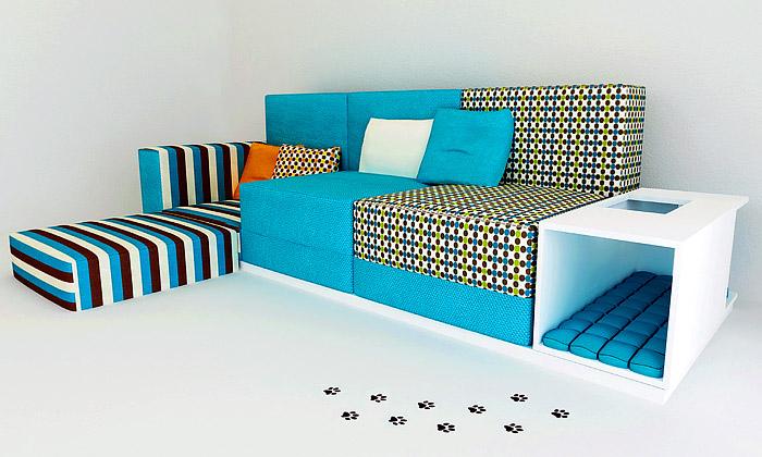 Polstrin má nový sedací nábytek astylovou postel