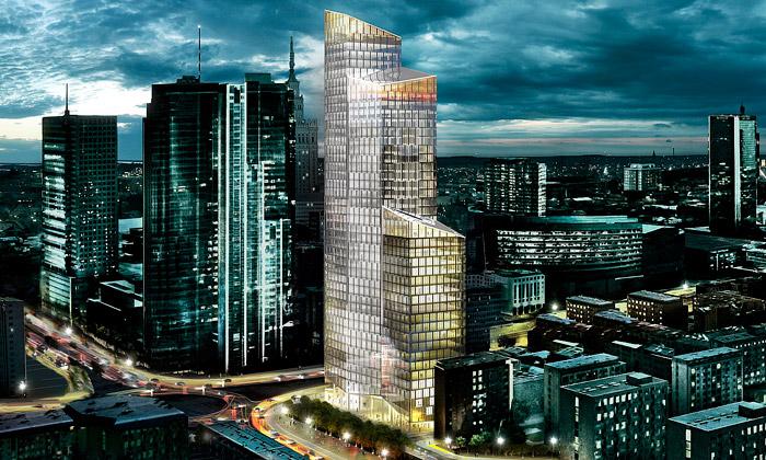 Varšava postaví téměř dvousetmetrový mrakodrap