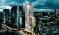 Plánovaný mrakodrap Office Tower Warsaw odstudia Schmidt Hammer Lassen