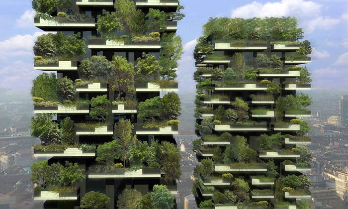 Miláno staví mrakodrapy hustě porostlé lesem ikeři
