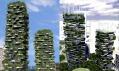 Mrakodrapy s lesem Bosco Verticale v Miláně od Stefano Boeri Architetti