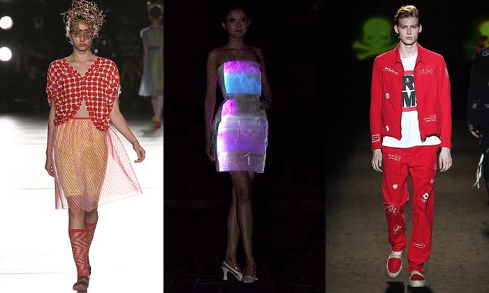 Tokyo Fashion Week veznamení 50.let iLED šatů