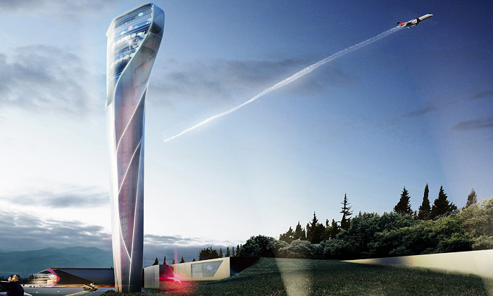 UNStudio postaví vGruzii futuristické letiště svěží