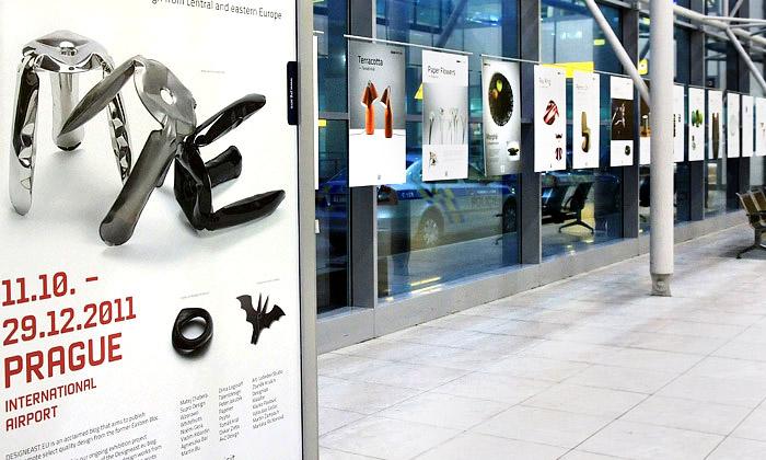 Nápaditý evropský design vystaven naLetišti Praha