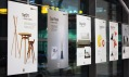 Výstava DesignEast Offline na Letišti Praha v Ruzyni