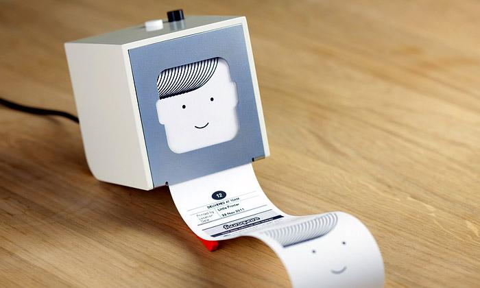 Little Printer jetiskárna pro mobily nejen naúkoly