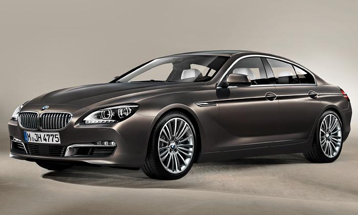 Odhaleno sportovní čtyřdveřové BMW 6 Gran Coupe