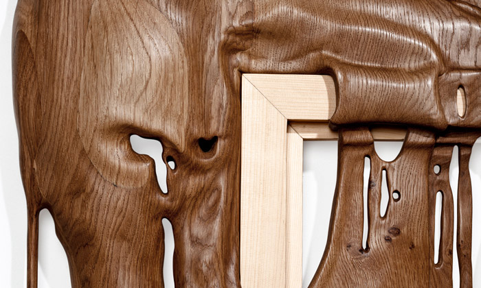 Duramen jsou sochy ze dřeva rozteklé jak čokoláda
