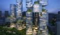 Obytné mrakodrapy K5 Wuhan Mikado od JDS v Číně