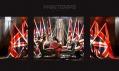 Výlohy obchodního domu Printemps v Paříži v designu Karl Lagerfeld