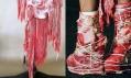 Franc Fernandez navrh pro Lady Gaga šaty z masa