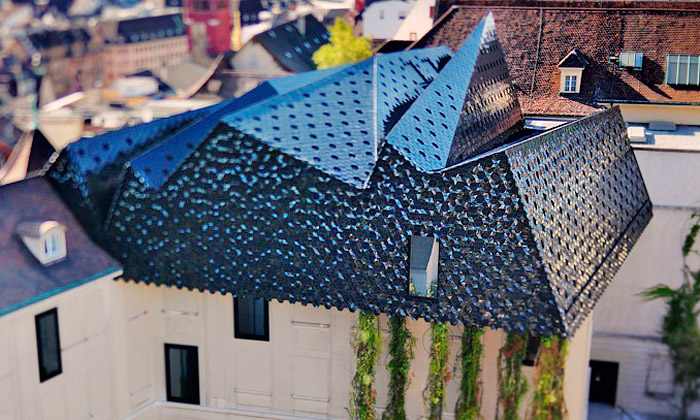 Herzog & de Meuron přidali korunu muzeu vBasileji