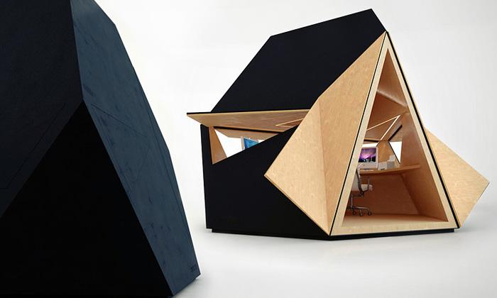Tetra Shed jemodulární systém zahradní kanceláře