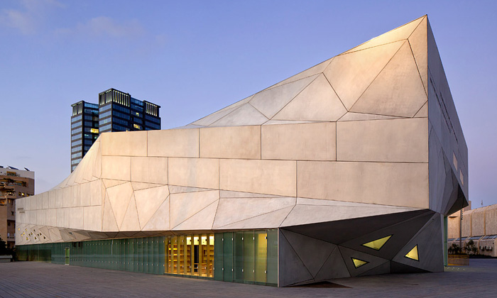 Izraelské muzeum umění Tel Aviv Museum of Art od Preston Scott Cohen