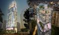 Obytný mrakodrap Scotts Tower v Singapuru od UNStudio
