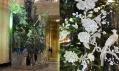 Vánoční strom v muzeu Victoria & Albert v roce 2006 a Jasper Conran