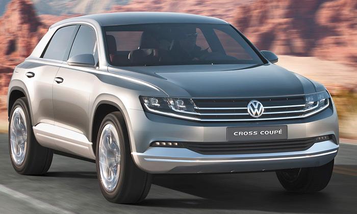 Volkswagen Cross Coupé jeminimalistická vize SUV