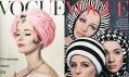 Obálka módního časopisu Vogue z roku 1960 a 1965