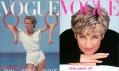 Obálka módního časopisu Vogue z roku 1983 a 1991