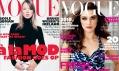Obálka módního časopisu Vogue z roku 1995 a 2009