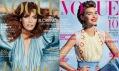 Obálka módního časopisu Vogue z roku 2012 leden a únor