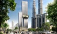 Nový mrakodrap Angkasa Raya vKuala Lumpur odBüro Ole Scheeren
