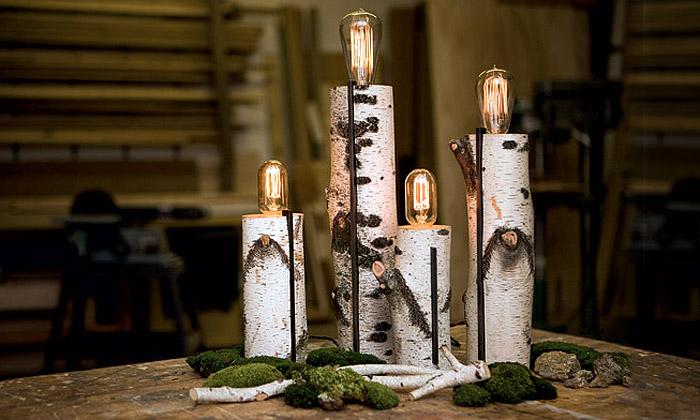 Autumn Workshop tvoří přírodní světla adekoraci