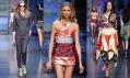 Přehlídka značky D&G na jaro a léto 2012 od Dolce & Gabbana