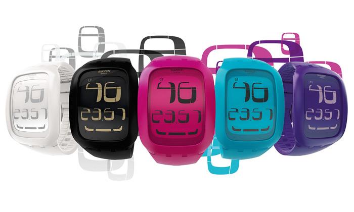Swatch uvádí hodinky Touch sdotykovým displejem