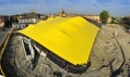 Průběh výstavby Enzo Ferrari Museum od Future Systems a Jana Kaplického