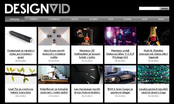 DesignMag.cz spouští video portál DesignVid.cz