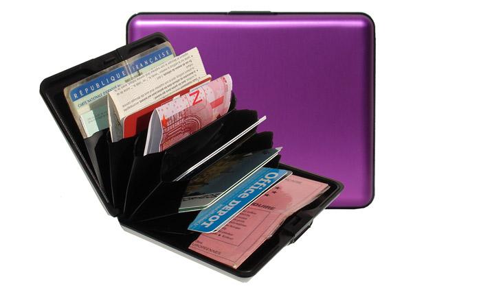 Hliníkové peněženky Ögon jsou inspirovány kufry
