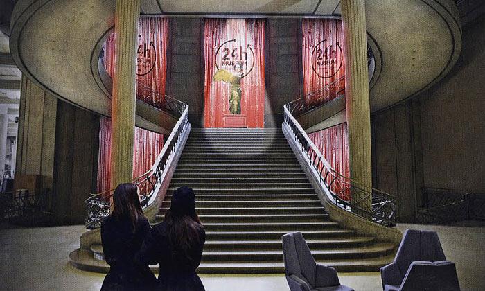 V Paříži sena24 hodin otevře nové muzeum umění