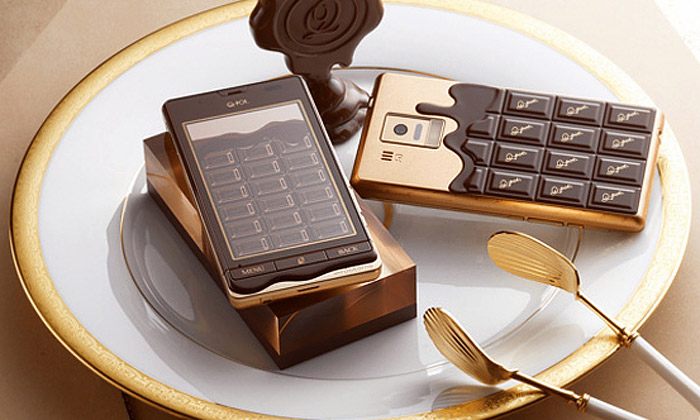 Q-Pot Phone jeprvní funkční čokoládový mobil