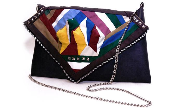 Gabang jsou ručně šité tašky inspirované kubismem