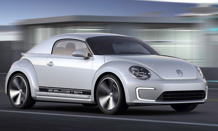 Volkswagen E-Bugster jeelektrikou poháněný Brouk