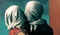 Ukázka zvýstavy René Magritte vevídeňské galerii Albertina