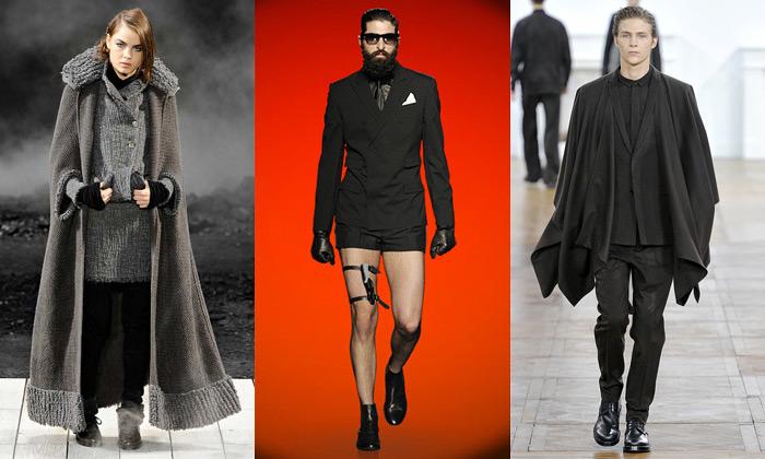 Zimní móda jeveznamení tajemného Hitchcocka