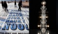 Ukázka z výstavy Designs of the Year 2012: Comedy Carpet a Totem no. 5
