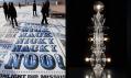 Ukázka z výstavy Designs of the Year 2012: Comedy Carpet a Totem no. 5