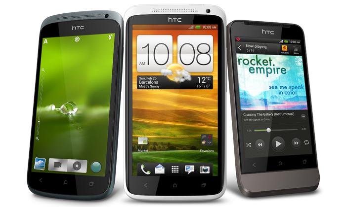 HTC One jenová řada tří mobilů sesuper foťáky