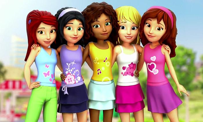 Lego uvádí stavebnici Friends určenou jen pro holky