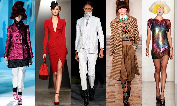 New York ukázal podzimní trendy šaty iklobouky